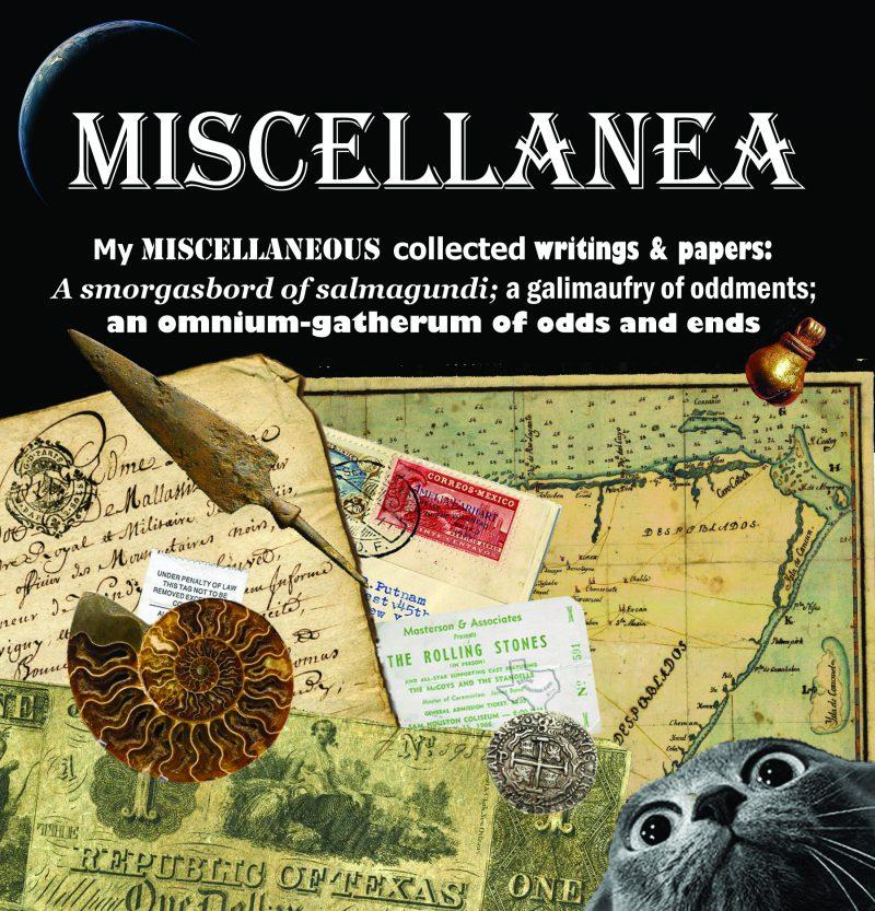 Miscellenea Blog by Ric Hajovsky
