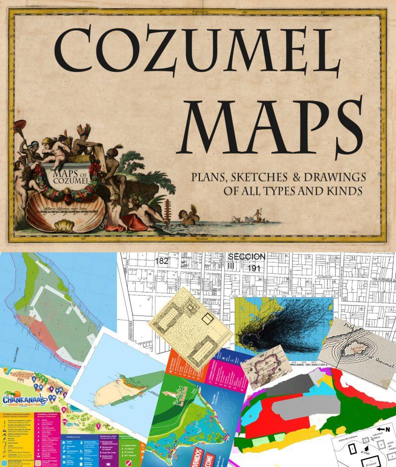 Varous maps of Cozumel