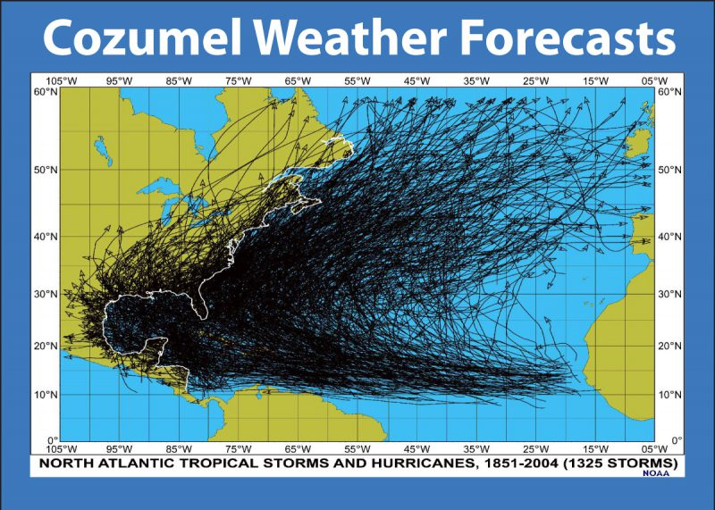Get your Cozumel Weather Forecast here