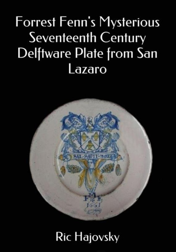 Cover of Ric Hajovsky book Delftware plate from San Lazaro